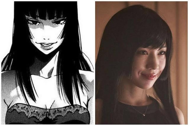 Dàn nhân vật đỉnh của chóp trong Alice in Borderland so với tạo hình manga, thần thái không kém gì phiên bản gốc - Ảnh 11.