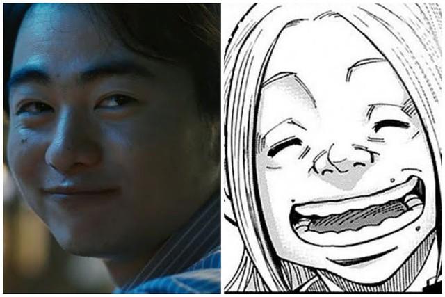 Dàn nhân vật đỉnh của chóp trong Alice in Borderland so với tạo hình manga, thần thái không kém gì phiên bản gốc - Ảnh 5.