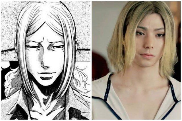 Dàn nhân vật đỉnh của chóp trong Alice in Borderland so với tạo hình manga, thần thái không kém gì phiên bản gốc - Ảnh 7.