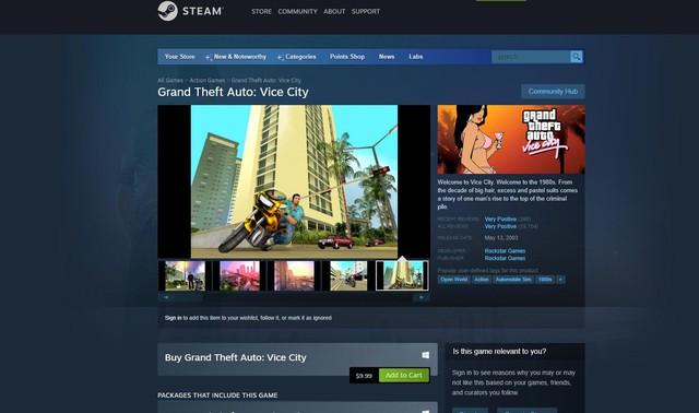 Bộ 3 game GTA Remastered sẽ không phát hành trên Steam - Ảnh 2.