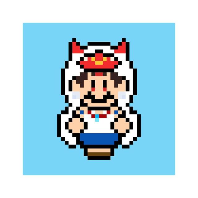Ngỡ ngàng khi thấy loạt nhân vật One Piece và anime được vẽ lại theo phong cách pixel art - Ảnh 13.