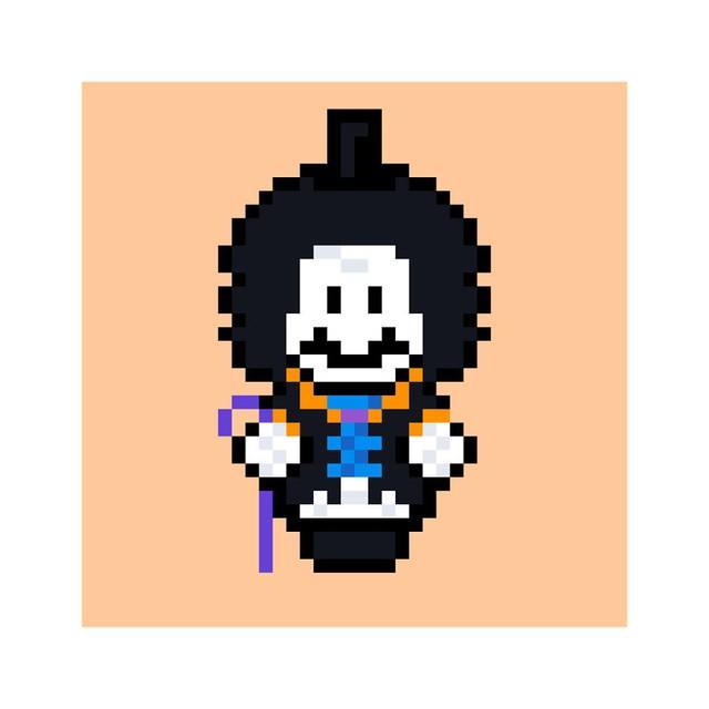 Ngỡ ngàng khi thấy loạt nhân vật One Piece và anime được vẽ lại theo phong cách pixel art - Ảnh 14.