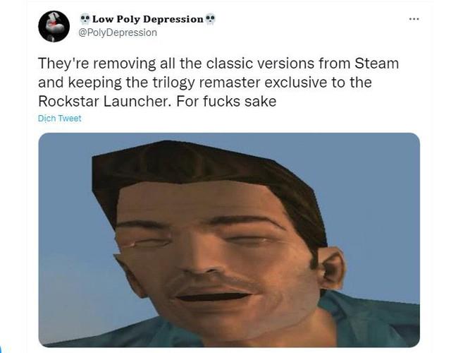 Bộ 3 game GTA Remastered sẽ không phát hành trên Steam - Ảnh 3.