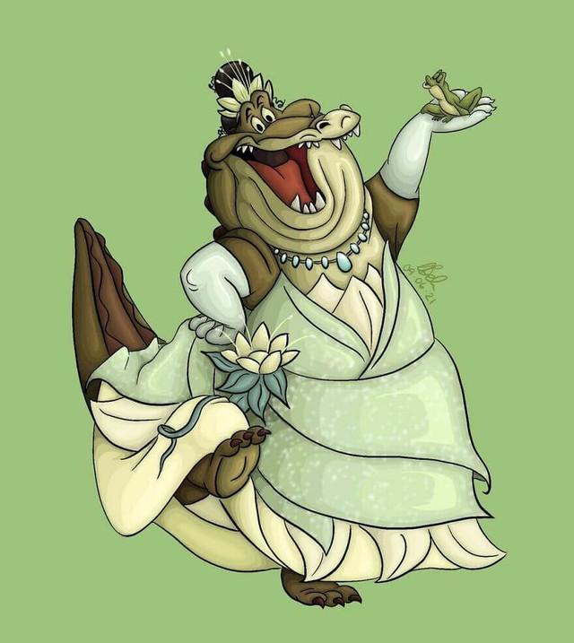 Chết cười khi thấy những loài vật trong phim Disney cosplay thành công chúa - Ảnh 5.