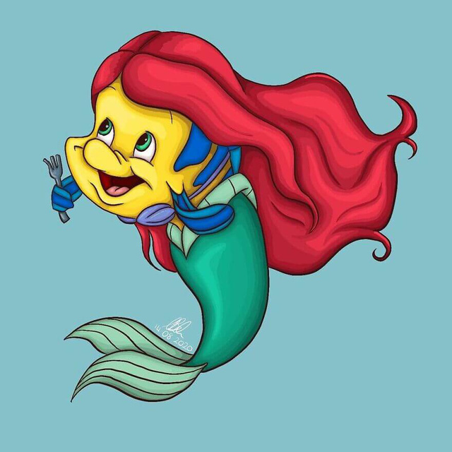 Chết cười khi thấy những loài vật trong phim Disney cosplay thành công chúa - Ảnh 10.