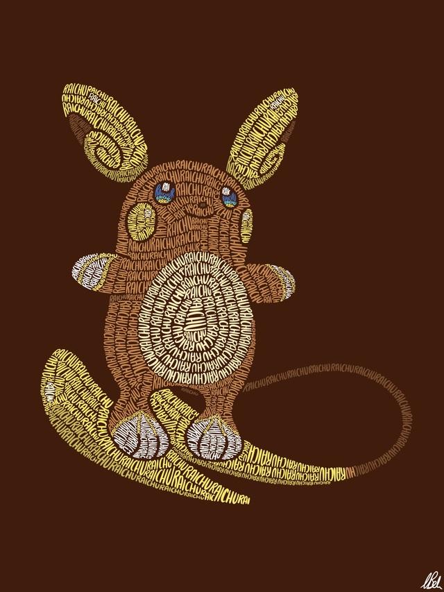 Mãn nhãn với loạt fanart Pokémon vô cùng sáng tạo, từ những con chữ đã ra các sinh vật hoàn chỉnh - Ảnh 5.