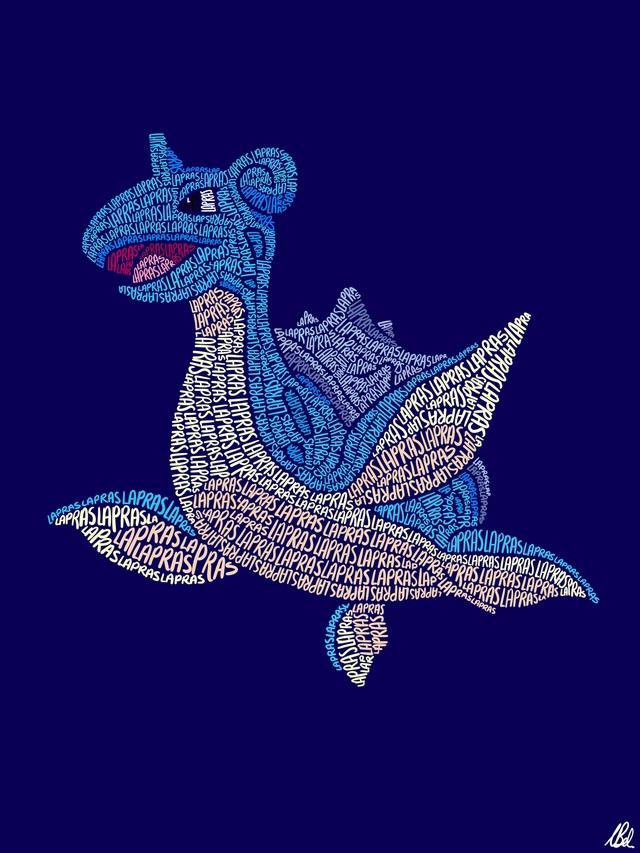 Mãn nhãn với loạt fanart Pokémon vô cùng sáng tạo, từ những con chữ đã ra các sinh vật hoàn chỉnh - Ảnh 7.