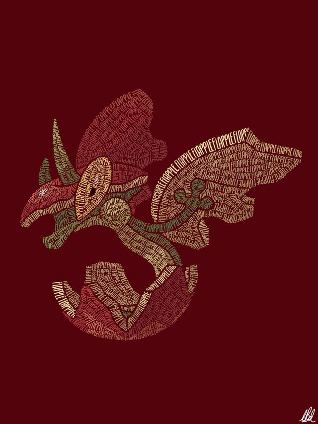 Mãn nhãn với loạt fanart Pokémon vô cùng sáng tạo, từ những con chữ đã ra các sinh vật hoàn chỉnh - Ảnh 9.
