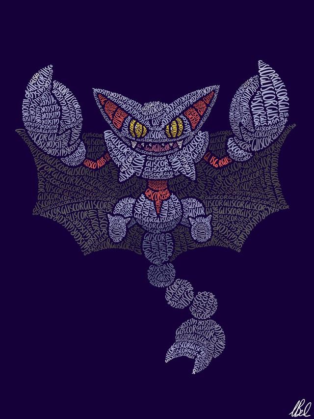 Mãn nhãn với loạt fanart Pokémon vô cùng sáng tạo, từ những con chữ đã ra các sinh vật hoàn chỉnh - Ảnh 14.