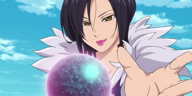 Top 7 nhân vật nữ mạnh nhất trong anime shonen Merlin-seven-deadly-sins-16340639066921918735997