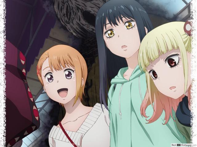 Là một anime kinh dị nhưng vì 3 cô nàng này mà Mieruko-chan đang bị mang tiếng là ecchi trá hình - Ảnh 1.
