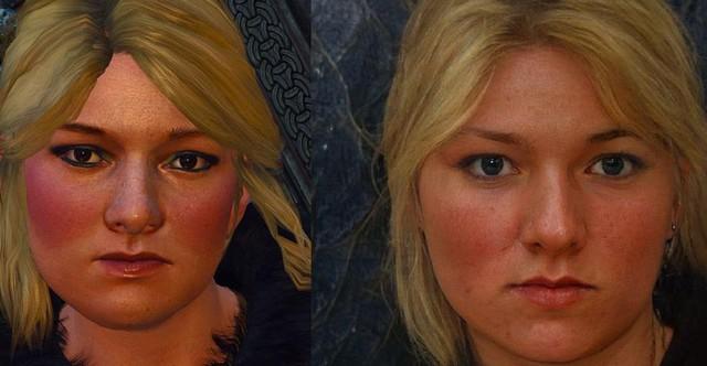 Nhân vật trong The Witcher 3 lột xác sau khi được AI biến đổi - Ảnh 2.