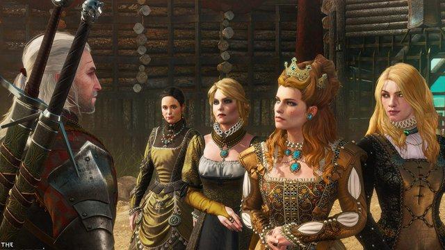 Nhân vật trong The Witcher 3 lột xác sau khi được AI biến đổi - Ảnh 1.