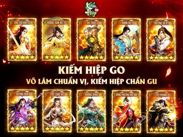 Kiếm Hiệp GO chiều fan Kim Dung tới bến, tặng Lệnh Hồ Xung SSR ngay khi đăng nhập, freeship toàn quốc - Ảnh 5.