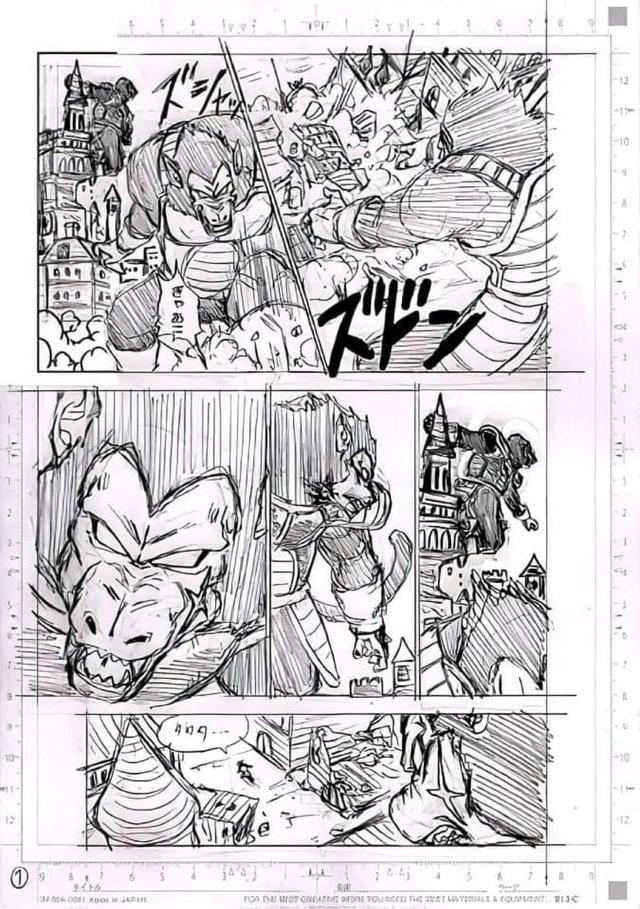 Spoil Dragon Ball Super chap 77 và 7 trang bản thảo: Hé lộ câu chuyện về cha của Goku, anh hùng cứu thế - Ảnh 7.