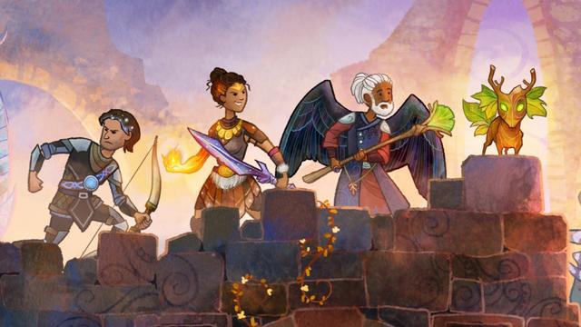 Top 10 tựa game có đồ họa phong cách tranh vẽ đẹp như bước ra từ những trang truyện - Ảnh 6.