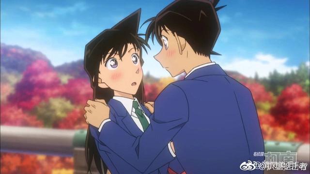 Vì quá hâm mộ cặp đôi Ran và Shinichi, một fan Conan tạo ra bức ảnh cả 2 hôn nhau thắm thiết - Ảnh 1.