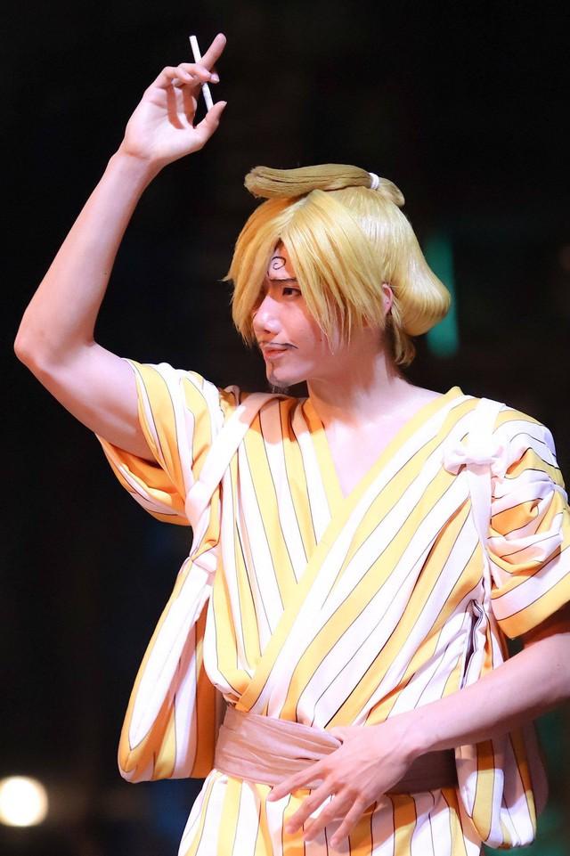 Các fan thích thú với gương mặt không thể đểu hơn của Sanji trong One Piece Premier Summer 2021 - Ảnh 12.