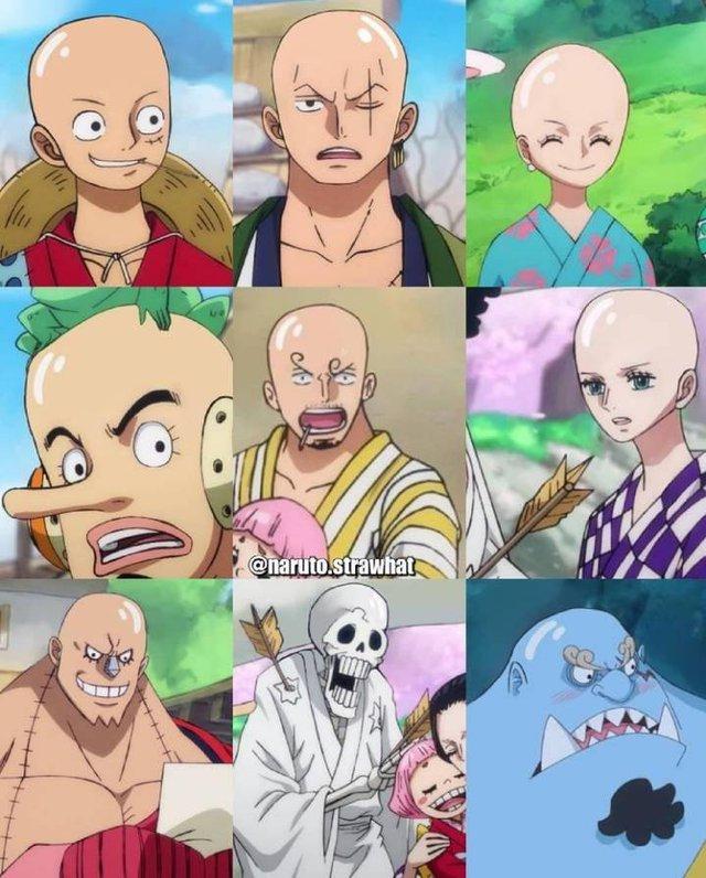 Chết cười khi thấy các nhân vật anime nổi tiếng bị hói đầu giống Saitama trong One Punch Man - Ảnh 20.
