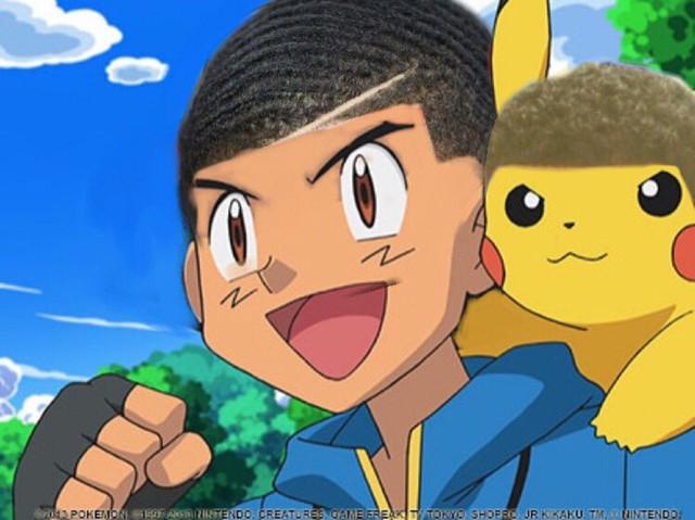 Cười sái quai hàm khi thấy các nhân vật anime để tóc xoăn gợn sóng, Luffy và Zoro trông cực ngầu - Ảnh 10.