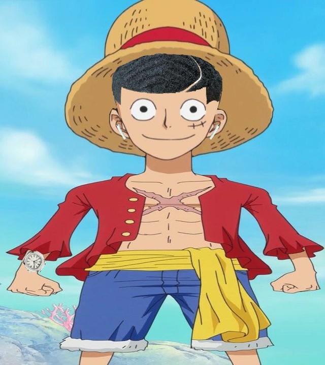Cười sái quai hàm khi thấy các nhân vật anime để tóc xoăn gợn sóng, Luffy và Zoro trông cực ngầu - Ảnh 11.