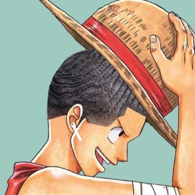 Cười sái quai hàm khi thấy các nhân vật anime để tóc xoăn gợn sóng, Luffy và Zoro trông cực ngầu - Ảnh 12.