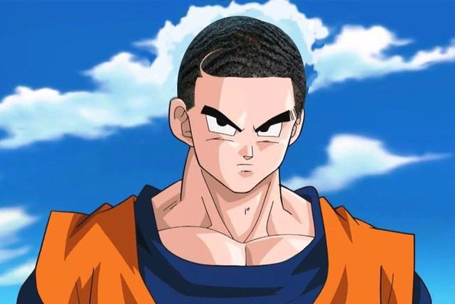 Cười sái quai hàm khi thấy các nhân vật anime để tóc xoăn gợn sóng, Luffy và Zoro trông cực ngầu - Ảnh 22.