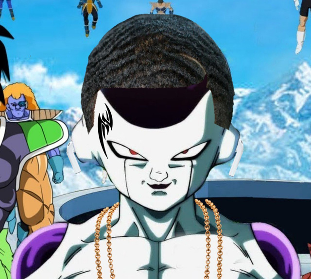 Cười sái quai hàm khi thấy các nhân vật anime để tóc xoăn gợn sóng, Luffy và Zoro trông cực ngầu - Ảnh 23.