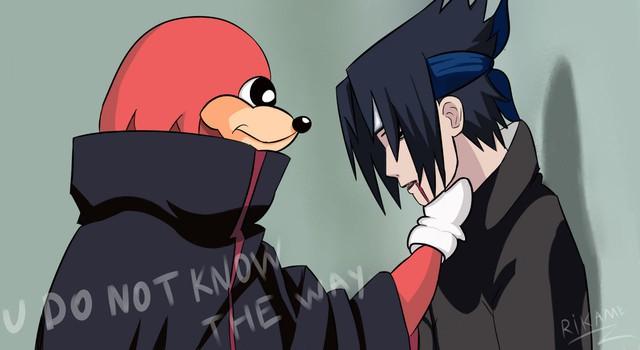 Nhìn lại trào lưu chế ảnh Sasuke bị bóp cổ mới giật mình nhận ra kiếp nhọ của anh Sặc đã có điềm báo từ lâu - Ảnh 15.