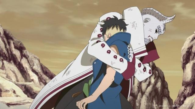 Boruto tập 218: Chi tiết từng gây sốc trong manga chính thức lên anime, Rinnegan của Sasuke bị trò cưng lụi mất - Ảnh 1.