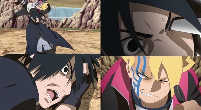 Boruto tập 218: Chi tiết từng gây sốc trong manga chính thức lên anime, Rinnegan của Sasuke bị trò cưng lụi mất - Ảnh 3.