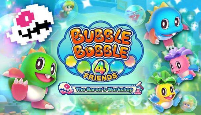 [Review] Bubble Bobble 4 Friends - The Baron's Workshop: Tựa game vui nhộn để giải trí cùng bạn bè - Ảnh 1.