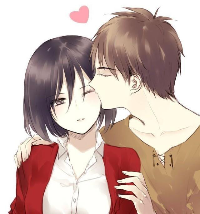 Mặc kệ tác giả nhẫn tâm, fan Attack on Titan tự vẽ ra một tương lai màu hồng nơi Eren và Mikasa bên nhau hạnh phúc - Ảnh 2.