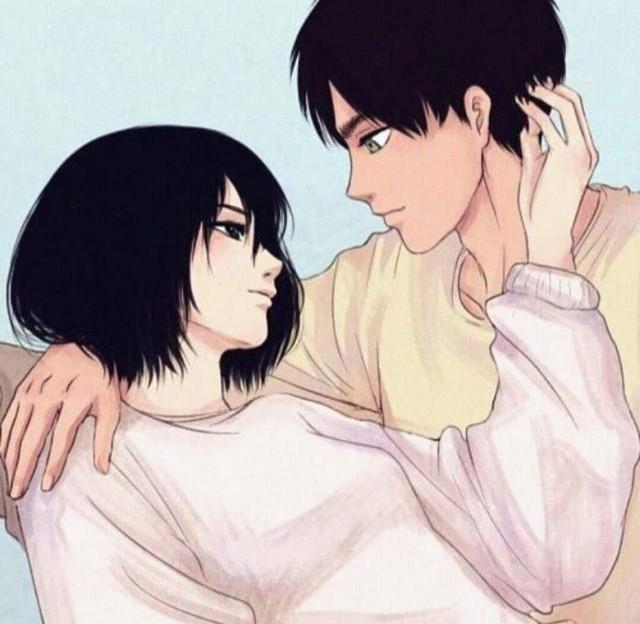 Mặc kệ tác giả nhẫn tâm, fan Attack on Titan tự vẽ ra một tương lai màu hồng nơi Eren và Mikasa bên nhau hạnh phúc - Ảnh 4.