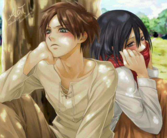 Mặc kệ tác giả nhẫn tâm, fan Attack on Titan tự vẽ ra một tương lai màu hồng nơi Eren và Mikasa bên nhau hạnh phúc - Ảnh 7.