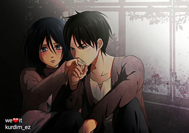 Mặc kệ tác giả nhẫn tâm, fan Attack on Titan tự vẽ ra một tương lai màu hồng nơi Eren và Mikasa bên nhau hạnh phúc - Ảnh 11.