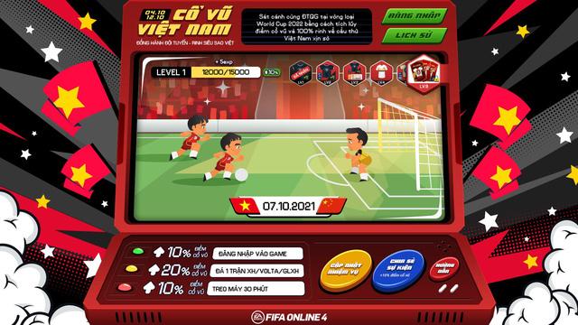FIFA Online 4: Tặng free loạt siêu cầu thủ - đồng hành cùng ĐTQG Việt Nam tại vòng loại WC 2022 - Ảnh 1.
