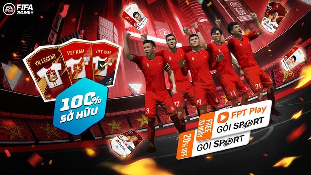 FIFA Online 4: Tặng free loạt siêu cầu thủ - đồng hành cùng ĐTQG Việt Nam tại vòng loại WC 2022 - Ảnh 2.