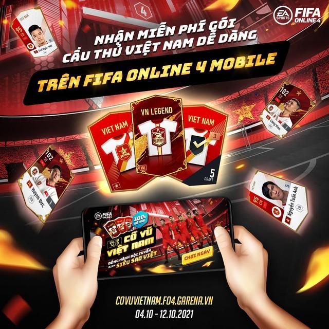 FIFA Online 4: Tặng free loạt siêu cầu thủ - đồng hành cùng ĐTQG Việt Nam tại vòng loại WC 2022 - Ảnh 4.