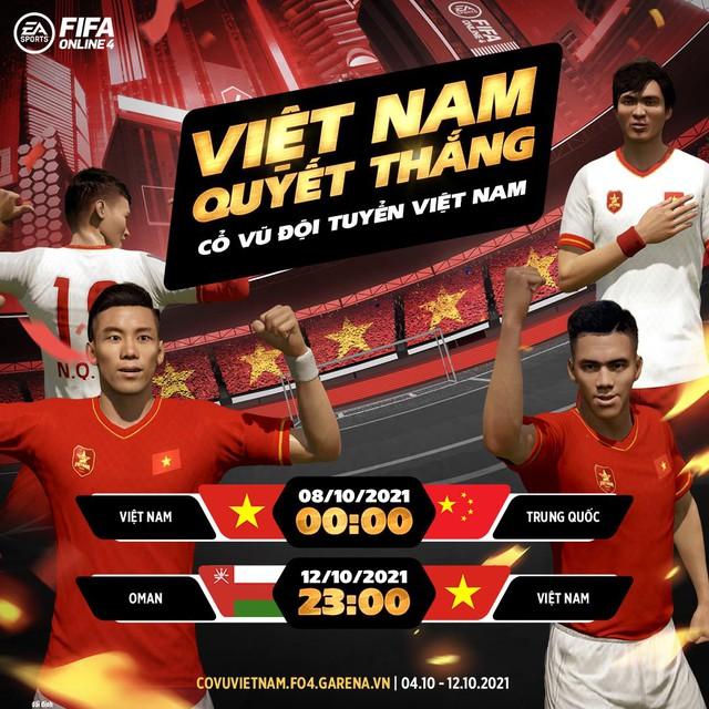 FIFA Online 4: Tặng free loạt siêu cầu thủ - đồng hành cùng ĐTQG Việt Nam tại vòng loại WC 2022 - Ảnh 6.