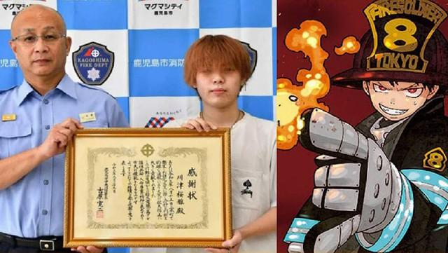 Vận dụng kinh nghiệm xem anime, chàng trai 18 tuổi chặn đứng cơn hỏa hoạn và cứu cụ bà 70 tuổi - Ảnh 1.