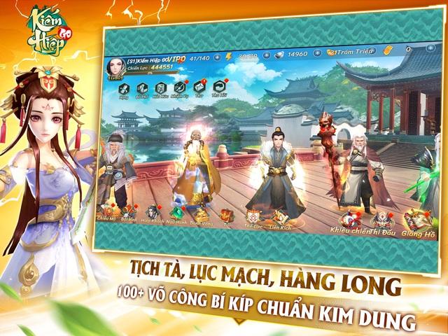 gMO chuẩn vị Kim Dung đặt hàng riêng - Kiếm Hiệp GO ấn định ra mắt trong tháng 10, mở đăng ký sớm khiến cả cộng đồng phải hội quân - Ảnh 4.