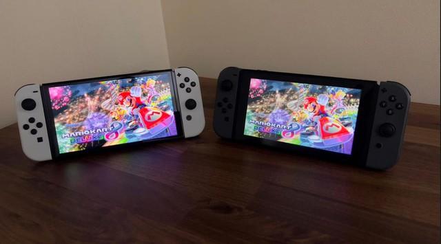 Trên tay Nintendo Switch OLED, màn hình quá đẹp, mượt mà miễn chê - Ảnh 2.