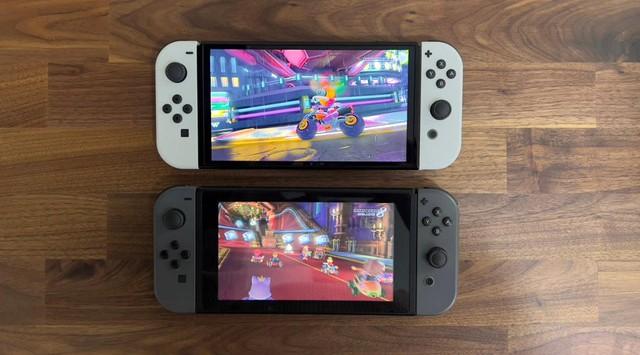 Trên tay Nintendo Switch OLED, màn hình quá đẹp, mượt mà miễn chê - Ảnh 5.