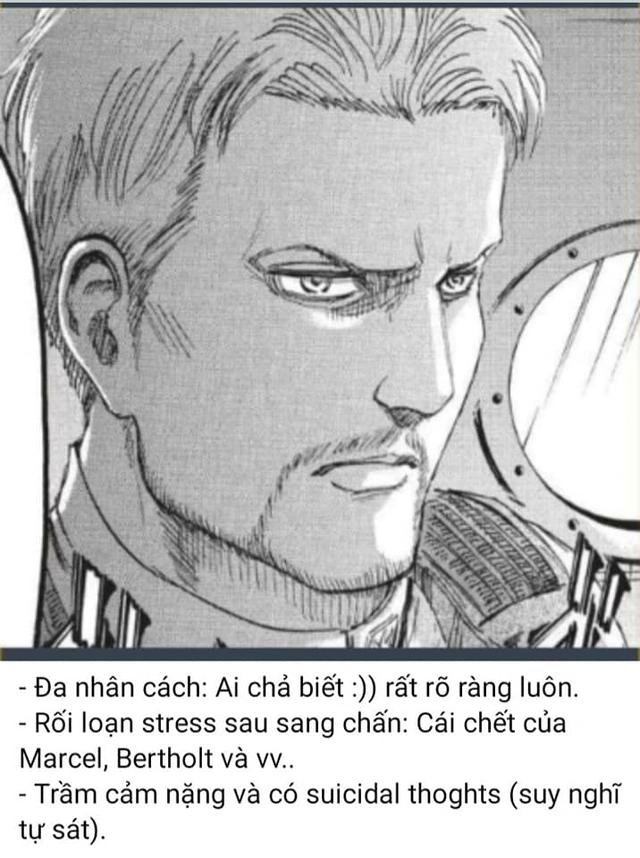 Attack on Titan: Điểm qua loạt nhân vật mắc bệnh tâm lý nặng, Mikasa là kiểu rối loạn nhân cách phụ thuộc - Ảnh 2.
