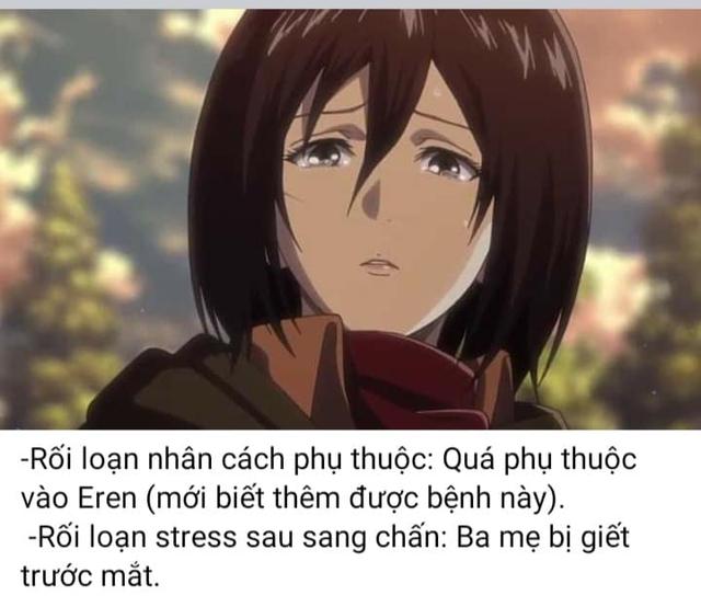 Attack on Titan: Điểm qua loạt nhân vật mắc bệnh tâm lý nặng, Mikasa là kiểu rối loạn nhân cách phụ thuộc - Ảnh 4.
