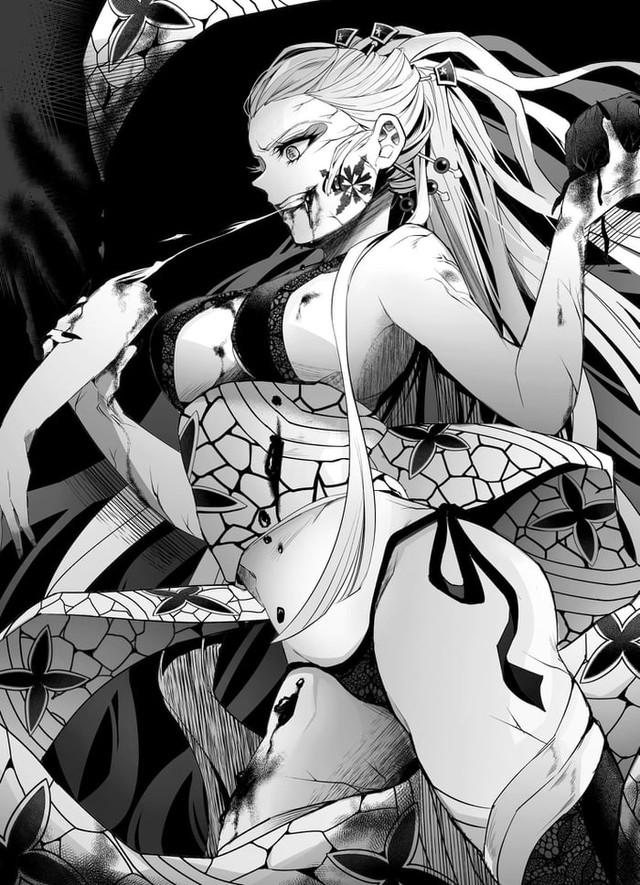 Kimetsu no Yaiba: Mặc dù là quỷ nhưng Thượng Lục Daki lại quá xinh đẹp Photo-1-16336857975071839057157