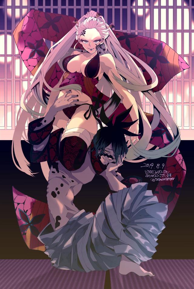 Kimetsu no Yaiba: Mặc dù là quỷ nhưng Thượng Lục Daki lại quá xinh đẹp Photo-1-16336859212901446835671