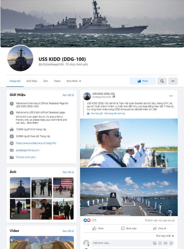 Fanpage của Hải quân Mỹ bị hack để livestream Đế Chế -16337666798552067685263