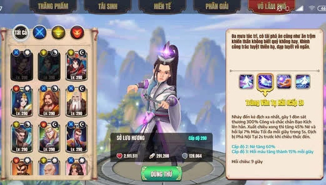Sở Lưu Hương - Lục Tiểu Phụng sẽ là tướng mới, Tân Minh Chủ trở thành game đa vũ trụ kiếm hiệp đầu tiên tại Việt Nam, Kim - Cổ giao duyên - Ảnh 13.